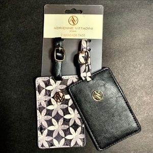NWT Adrienne Vittadini luggage tag set (2)